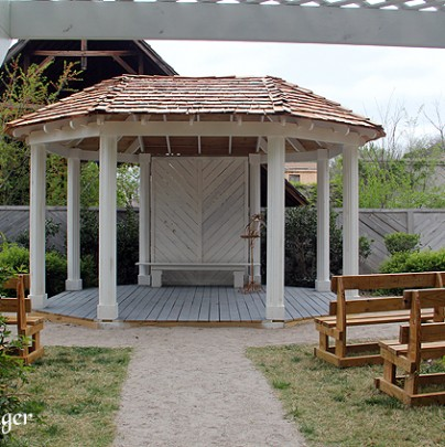 Wedding Garden Gazebo