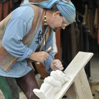 Stone Carving Demonstration